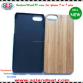 2017 New wood and pc case for iphone 7 IPC368