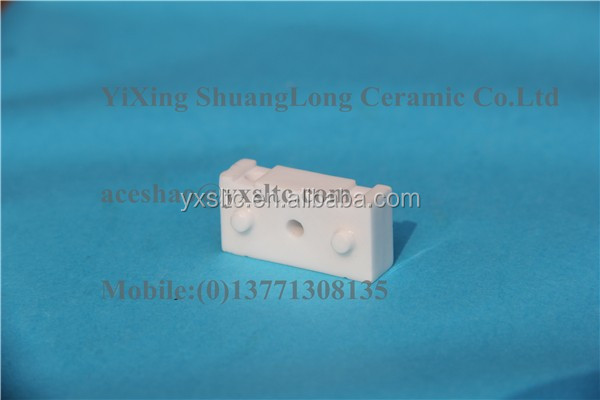 Ceramic heads 95% al2o3 ceramic alumina rod ceramic stripping fingers