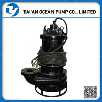 Centrifugal submersible sand slurry pump