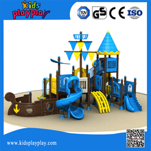 kids games outdoor playground with plastic slide