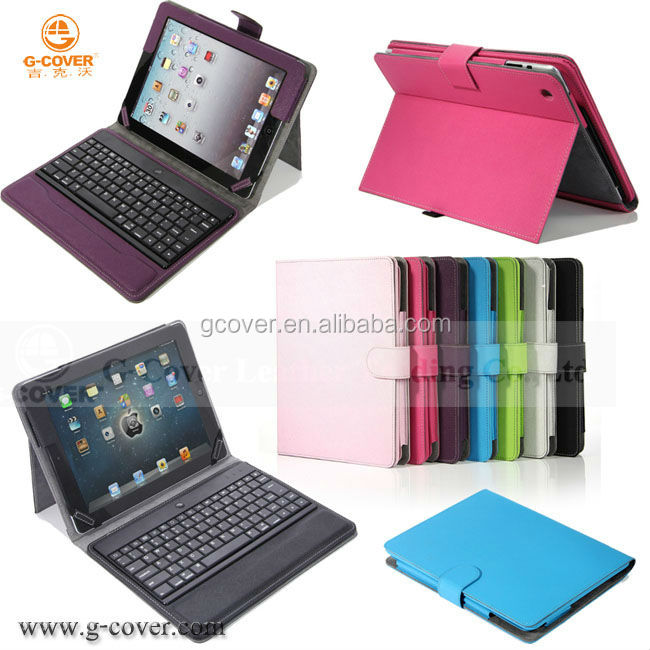 Hot Selling Bluetooth Keyboard For iPad, Case for iPad4