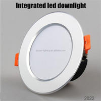 New competitive good heat dissipation 6inch 18w dimmable led downlight housing
