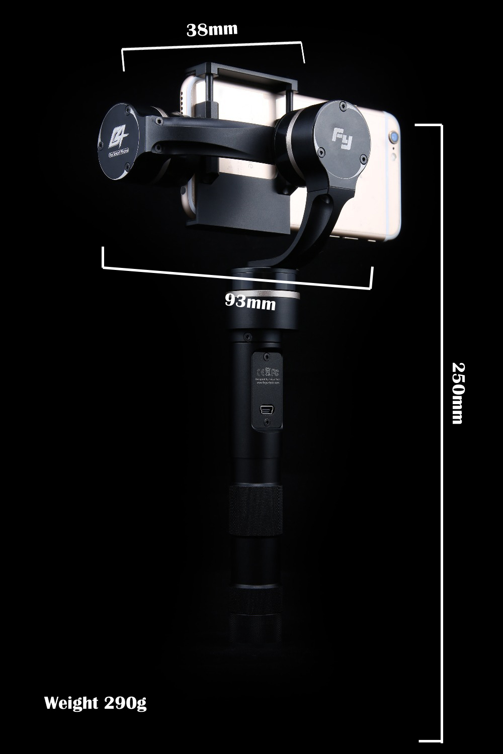 Feiyu FY-G4 3-Axis Gimbal/stabilizer for smartphone