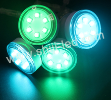 45mm double signal rgb led point spot light source