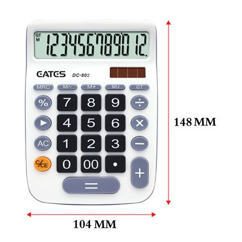 Wholesale High Quality Office Desk Calculator Dual Power 12 digits