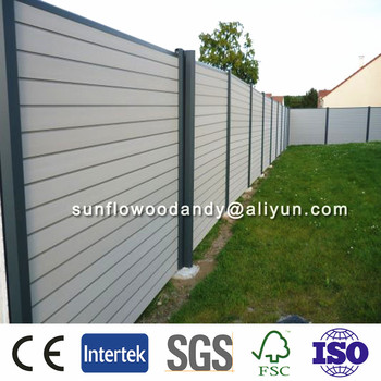 China Wpc manufacturer ANTI-UV WPC Fence