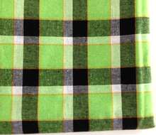 Cotton check fabric,big check design fabric