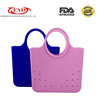 Summer fashion waterproof silicone beach bag lady handbag