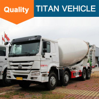 Low Price Sinotruck Howo 10m3 Diesel mobile concrete mixer truck for sale