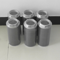 stainless steel media high precision oil filter element for oil filtration machine