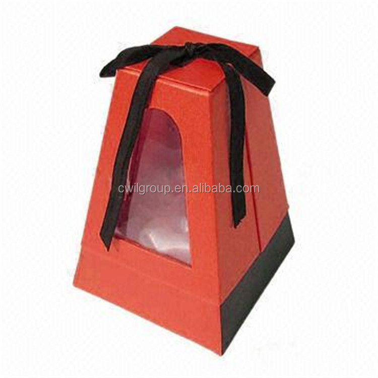 2016 Wholesale custom fancy paper decorative gift christmas boxes