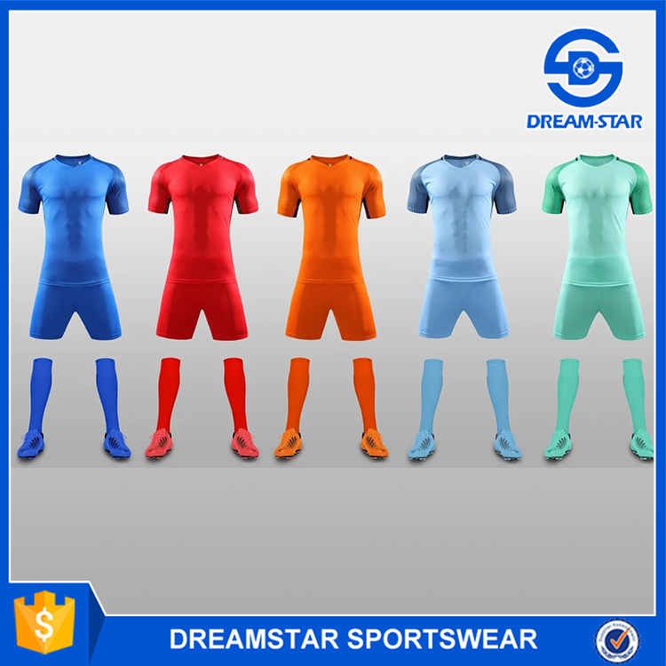 Comfortable high quality organic soccer jersey