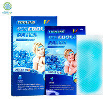 Factory manufacture high quality thermometer fever patch,fever reducing cool patch