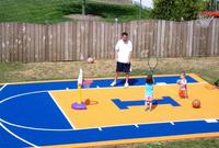 Professional interlocking basketball sports floor with low price