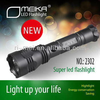 2014 High Power OMK LED Self Defense Torchs Lamp Flashlight For Outdoor lighting camping&hiking