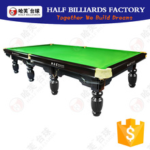 National Solid Wood Snooker Pool Table For Sale