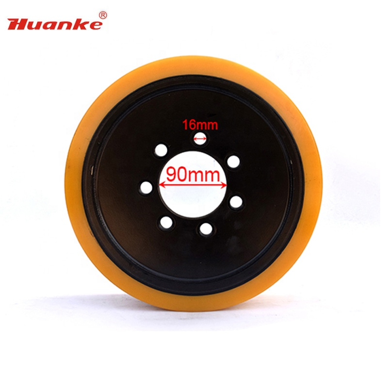 High Quality 343*135*90mm PU Drive <strong>Wheel</strong> for Linde R14S/16S Electric Forklifts
