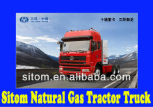 Sitom Natural Gas Tractor Truck 6x4 for Sale