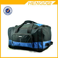 Good quality branded canvas duffel bags with trolley