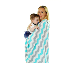 fashionable baby swaddle blanket muslin baby wrap organic