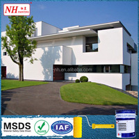 Polyester waterproof wall lacquer