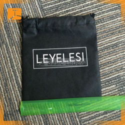 Custom cotton canvas shoe dust bag/cloth packaging bag