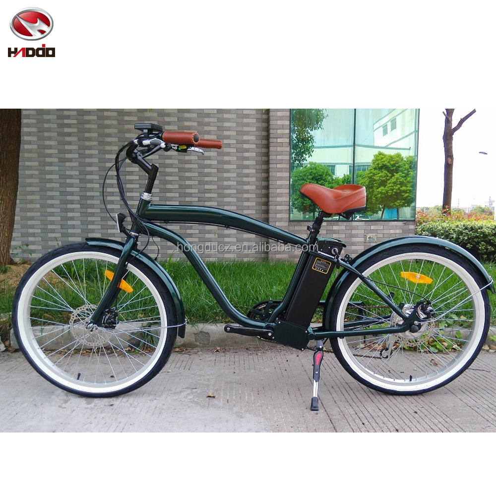 2017 Lithium Battery Electric Bicycle En15194 Approved E Bike Beach Cruiser