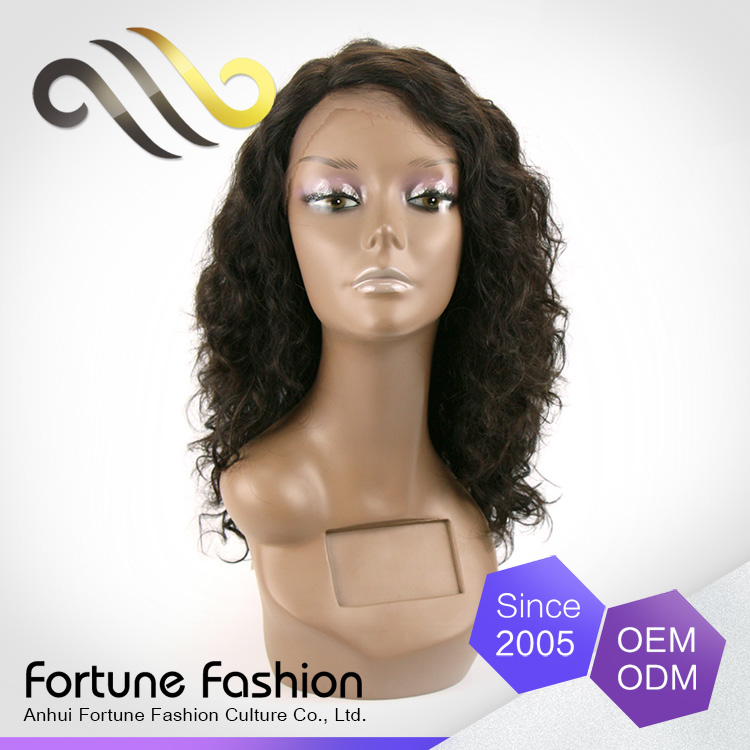 2016 cheap Indian human hair lace front wig, wholesale human hair extensions & wigs