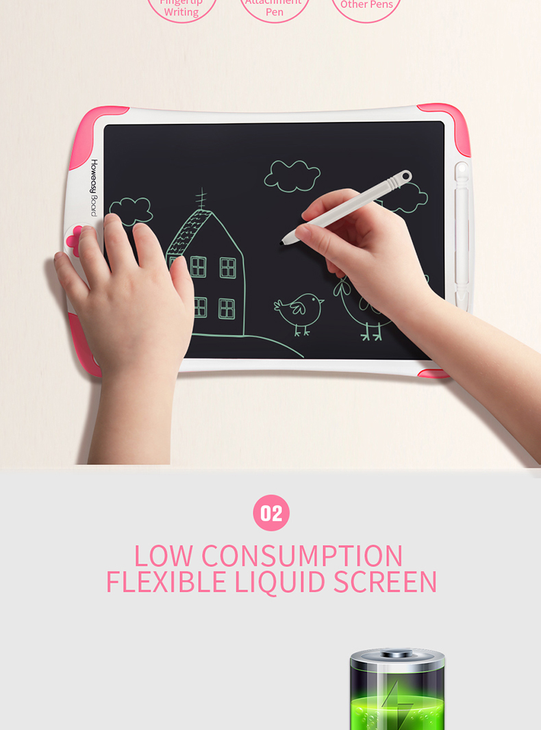 Discounted Product Howeasy Board 10 inch LCD graphic digital drawing tablet for kids