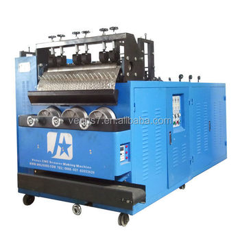 JX-A6 Spic And Span Kitchen Sponge Ball Scourer Scrubber Making Production Machine