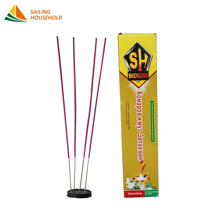 Eco - friendly Harmless household Osmanthus fragrance coils sticks Multicolor anti mosquito stick