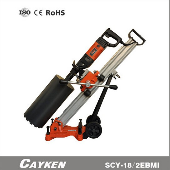 CAYKEN 132mm Electric Portable Handheld Diamond Core Drilling Machine,Concrete Coring Machine,drilling rigs SCY-18/3EBMI