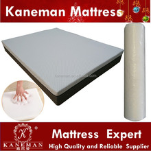 Vacuum compressed rebonded foam mattresses