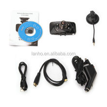 GS8000 Night Vision Car Vehicle Recorder DVR Dash Cam With GPS G-sensor