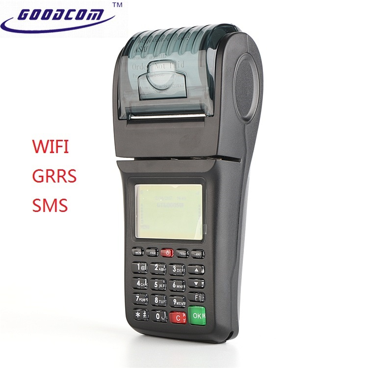 China WIFI GPRS SMS point of sale system wireless financial POS terminal