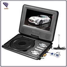 Best selling 3D EVD portable dvd player with ISDB-T for Japan and Peru