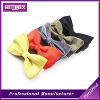 2016 solid color adjustable tuxedo fashion bow tie men for people design,solid color bowtie,Blank bow tie