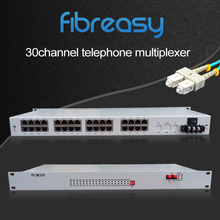 Factory supplier 19inch fiber optical pcm 30 channel multiplexer