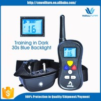 Green Red Blue Black Safety Collar Hot Sell Dog Fence Training System Remote Control Dog Training Collars