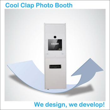 Best quality portable photo booth kiosk for photo printing for Best buy photo printing