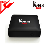 KM8 PRO Android 6.0 TV BOX Amlogic S912 Octa Core 2G/16G KD 17.0 Bluetooth 2.4G/5GHz WIFI 1000M LAN KM8PRO Smart Media Player