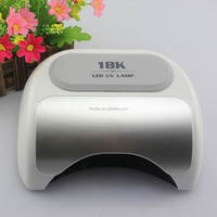 Shenzhen Factory lampada de led 18K 18W 36W 48W UV LED Nail Lamp Gel Polish Lamp Nail Dryer with automatic sensor for Nails Dry