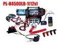 portable atv winch 4500LB fast speed with wireless control