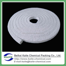 Ceramic fiber rope, packings, textiles, cloth, tape and yarn