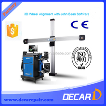 2014 New DECAR 3D camera Space wheel aligner four wheel alignment