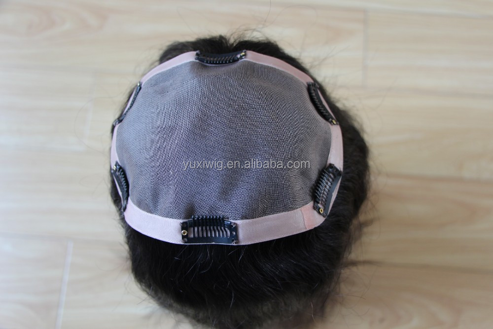 Hair Topper Malaysian Remy clip in hair piece