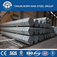 Structure Pipe Application and Hot Rolled Technique High Quality Galvanized Steel Pipe