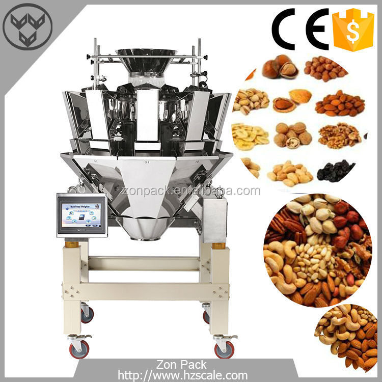 High Quality Automatic Packaging Machine With 10 Heads Combination Weigher