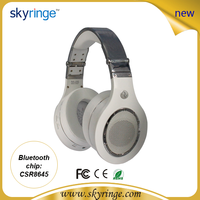 Fashionable microphone bluetooth high quality plastic earphones