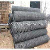 Hexagonal poultry wire mesh for gabion box